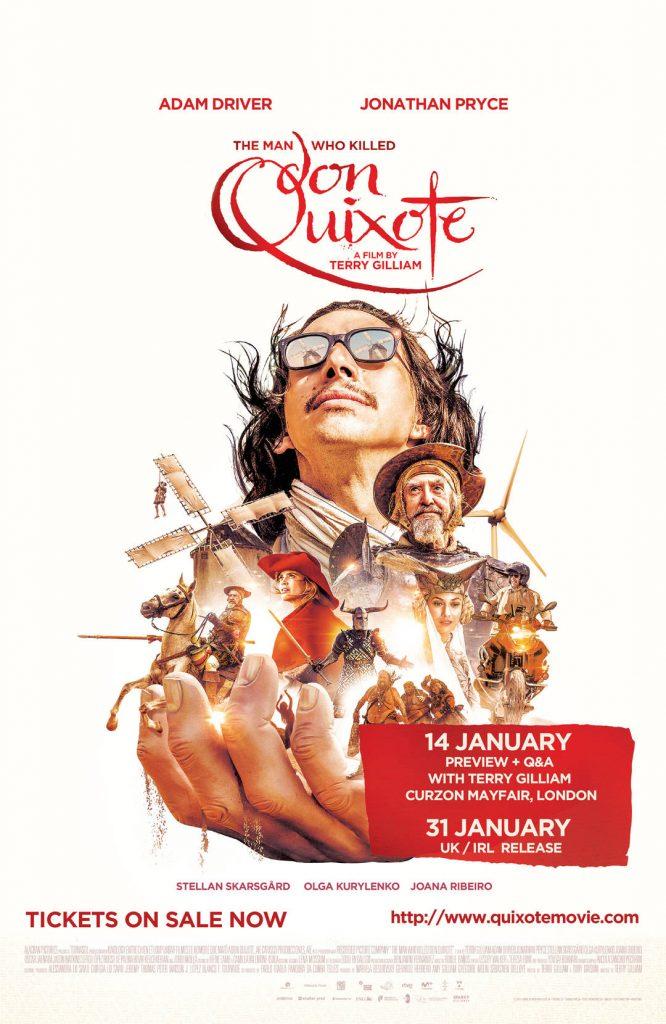 Terry Gilliam's Quixote Premiers in UK/Ireland