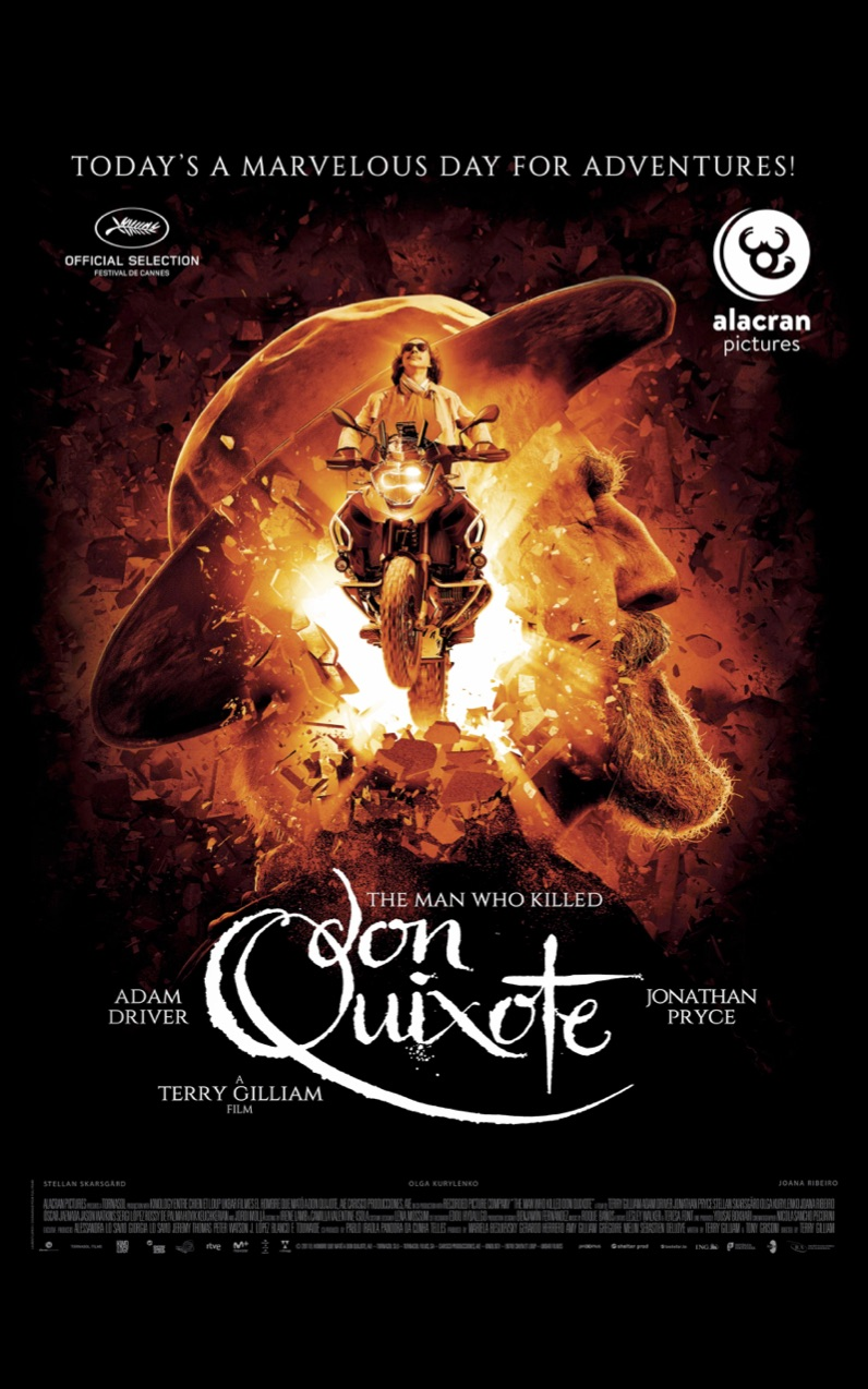 The Man Who Killed Don Quixote first poster