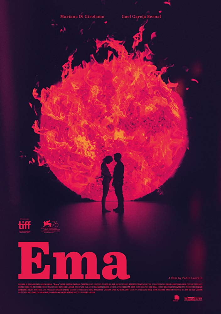 Poster for the film Ema 2020