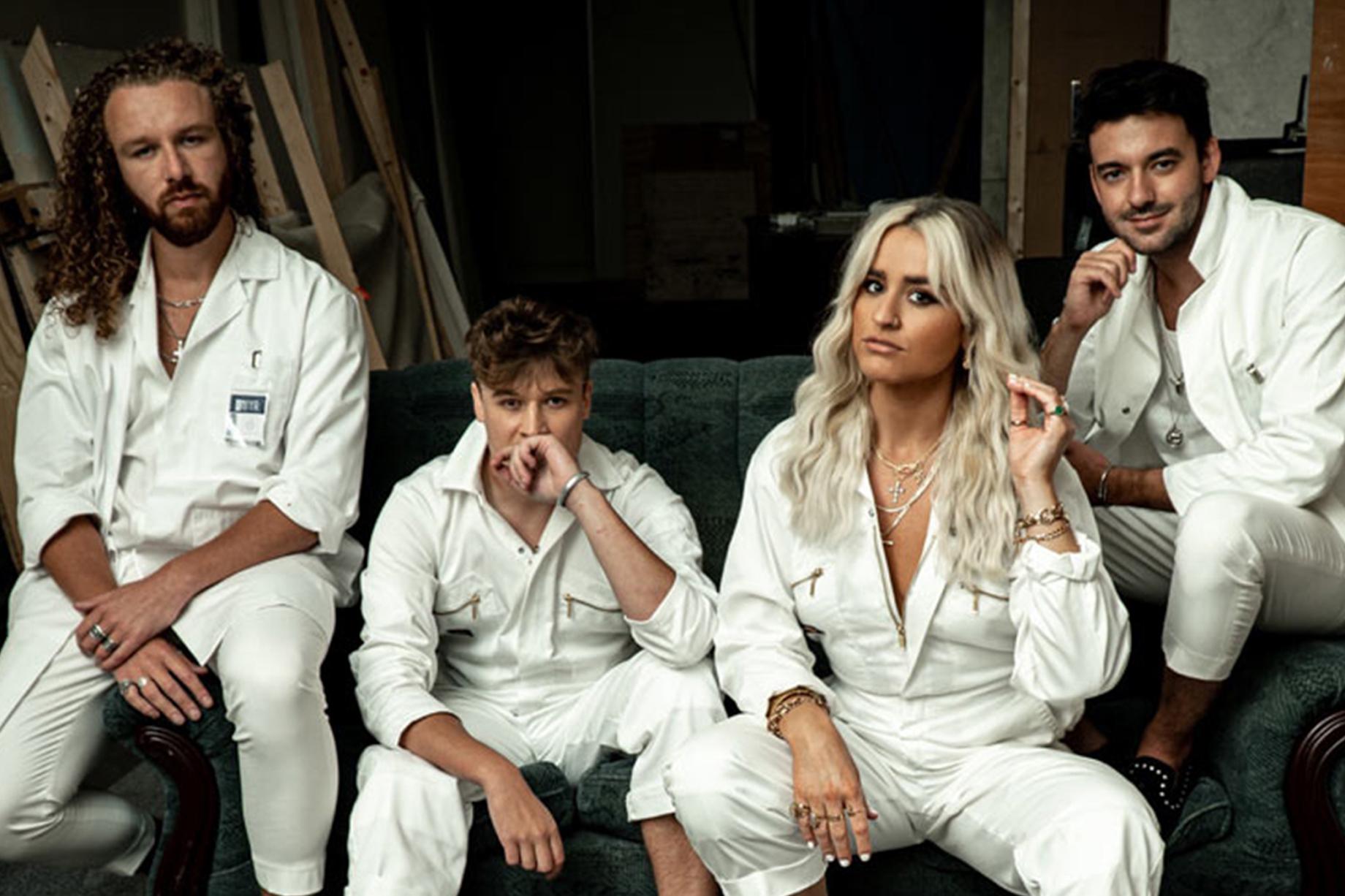 Miya Miya band during music video