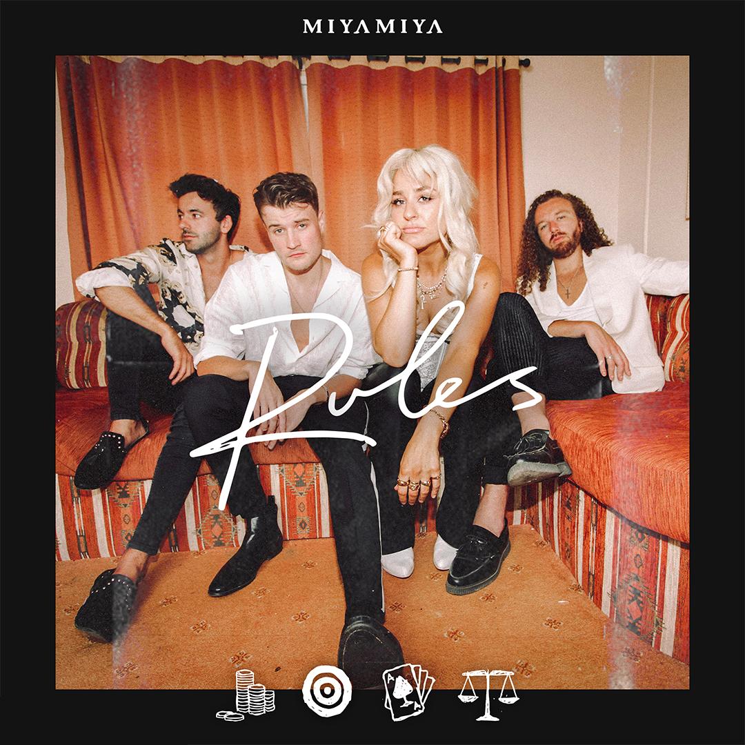 """Miya Miya """"Rules"""" Single Cover"""