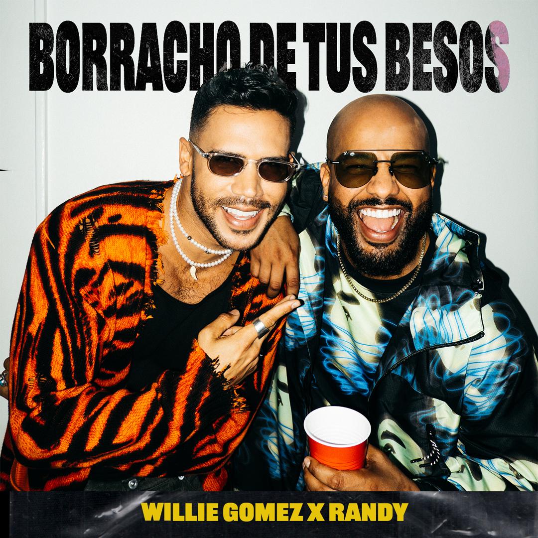 """Borracho De Tus Besos"" Single cover"